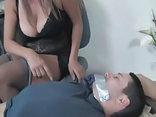 Big Tits Handjob Mom