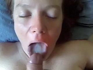 Amateur Cumshot Homemade Swallow Wife