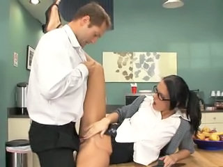 Clothed Glasses Hardcore  Pornstar Secretary