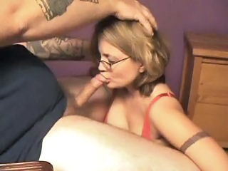 Amateur Blowjob Glasses