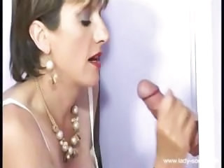 Gloryhole Handjob Mature