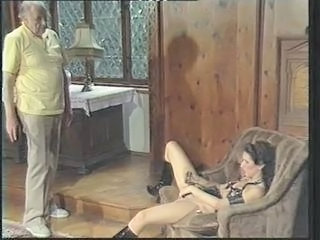 Daddy European German Masturbating  Old and Young Vintage