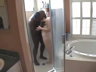 Bathroom Cuckold Interracial Wife
