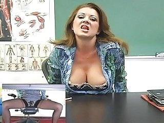Big Tits  Teacher Uniform