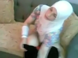 Amateur Arab Homemade Tattoo Wife