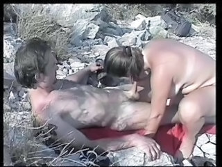 Amateur Blowjob Chubby  Outdoor