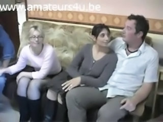 Amateur European French Mature Threesome Wife