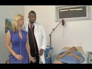 Big Tits Cuckold Doctor Interracial  Wife