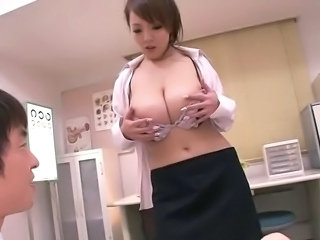 Amazing Asian Big Tits Doctor Japanese  Natural Pornstar Stripper
