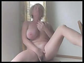 Amateur Big Tits Masturbating  Natural Solo