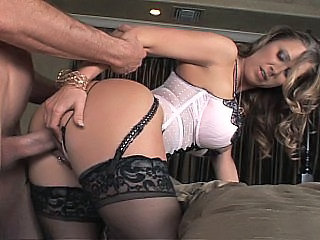 Amazing  Doggystyle Hardcore Lingerie  Pornstar Stockings