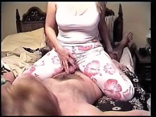 Amateur Handjob Homemade Wife