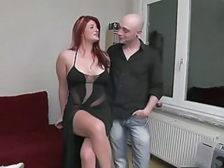 Big Tits European French  Redhead
