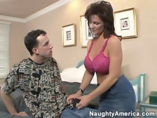 Big Tits Lingerie  Mom Old and Young Pornstar