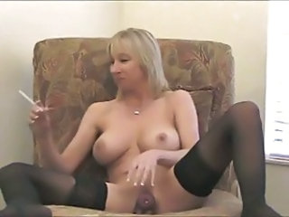 Amateur Big Tits  Smoking Stockings Toy