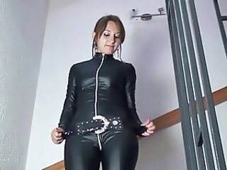 Amateur Amazing European German Latex