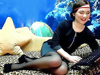 Pantyhose Solo Webcam