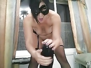 Amateur Dildo Fetish Homemade  Toy