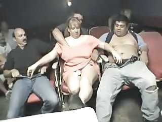 Amateur Gangbang Handjob Older Public Wife