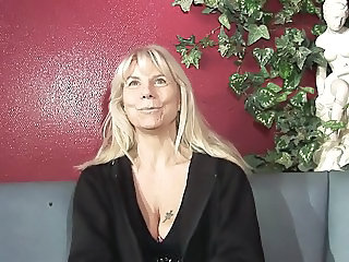 Blonde European French Mature