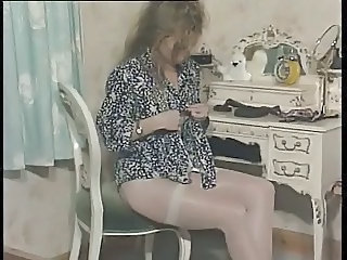 British European  Solo Stockings Stripper Vintage