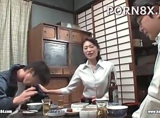 Asian Drunk Family Japanese Kitchen  Mom
