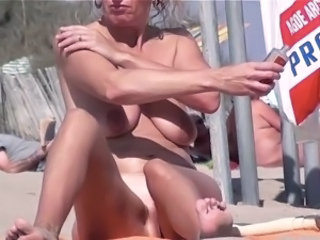 Beach Mature Nudist Outdoor Public  Voyeur