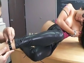 Amazing Big Tits Legs  Pornstar School