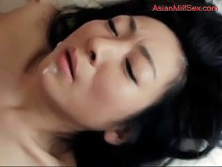 Asian Cumshot  Swallow