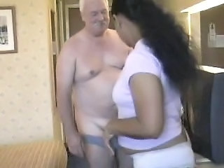 Amateur  Papá Casero India Interracial Esposa