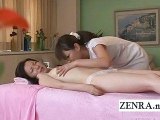 Asian Japanese Lesbian Massage