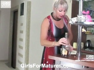 Drunk Lesbian Mature Old and Young Russian