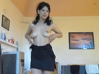 Amateur Homemade Latina  Stripper