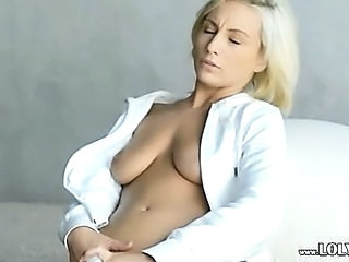 Blonde European  Toy