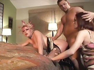 Goth Hardcore  Threesome Wife