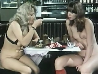 European German Lesbian  Old and Young Public Teen Vintage