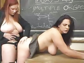 Big Tits Chubby Lesbian  Natural School Strapon Teacher