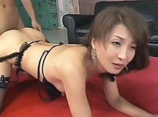 Asian Doggystyle Japanese Lingerie Mature