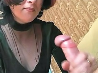 Handjob Mature Wife