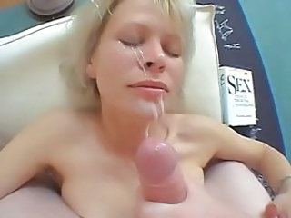 Cumshot Facial  Wife