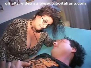 Amateur Big Tits European Glasses Italian  Wife