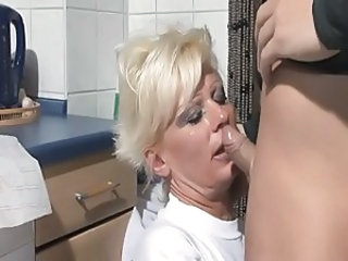 Blowjob European German Kitchen Mature