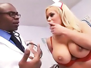 Amazing Big Tits Doctor Interracial  Nurse Pornstar