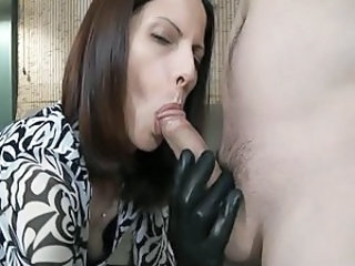 Blowjob Clothed Latex