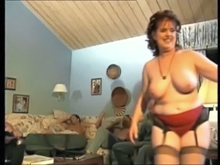 Chubby European Gangbang German Mature