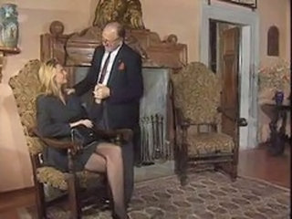 Daddy  Old and Young Pornstar Stockings Vintage