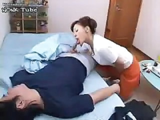 Asian Blowjob Clothed Japanese  Small cock Wife