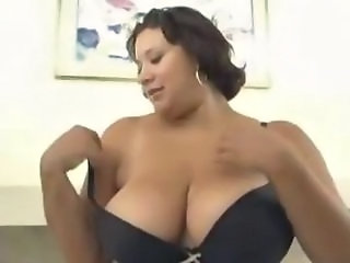 Big Tits Latina Lingerie  Natural Stripper