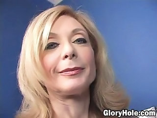 Gloryhole Mature Mom