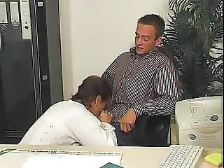 Blowjob Clothed Mature Mom Office Old and Young